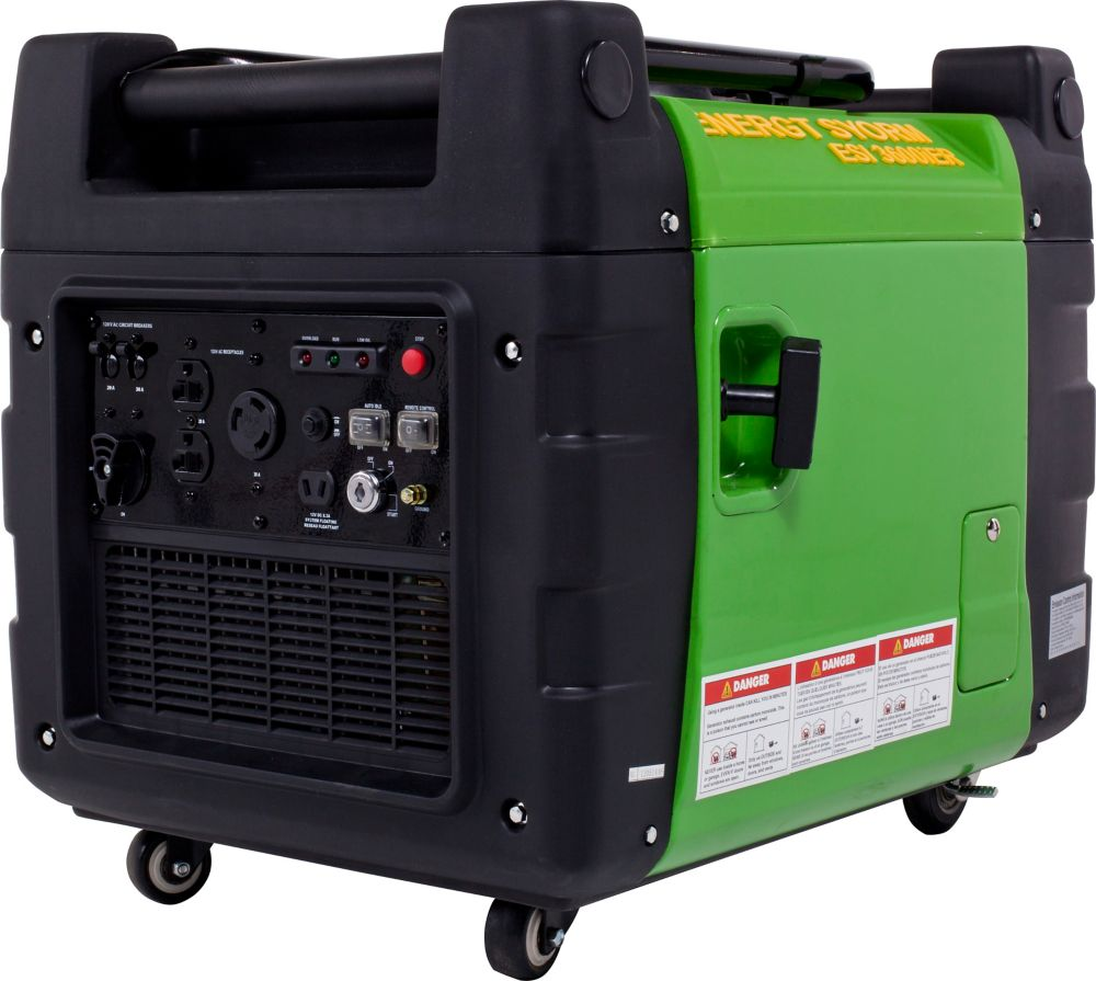3500 Peak Watt Inverter Generator with Idle control, Remote start and Portability kit