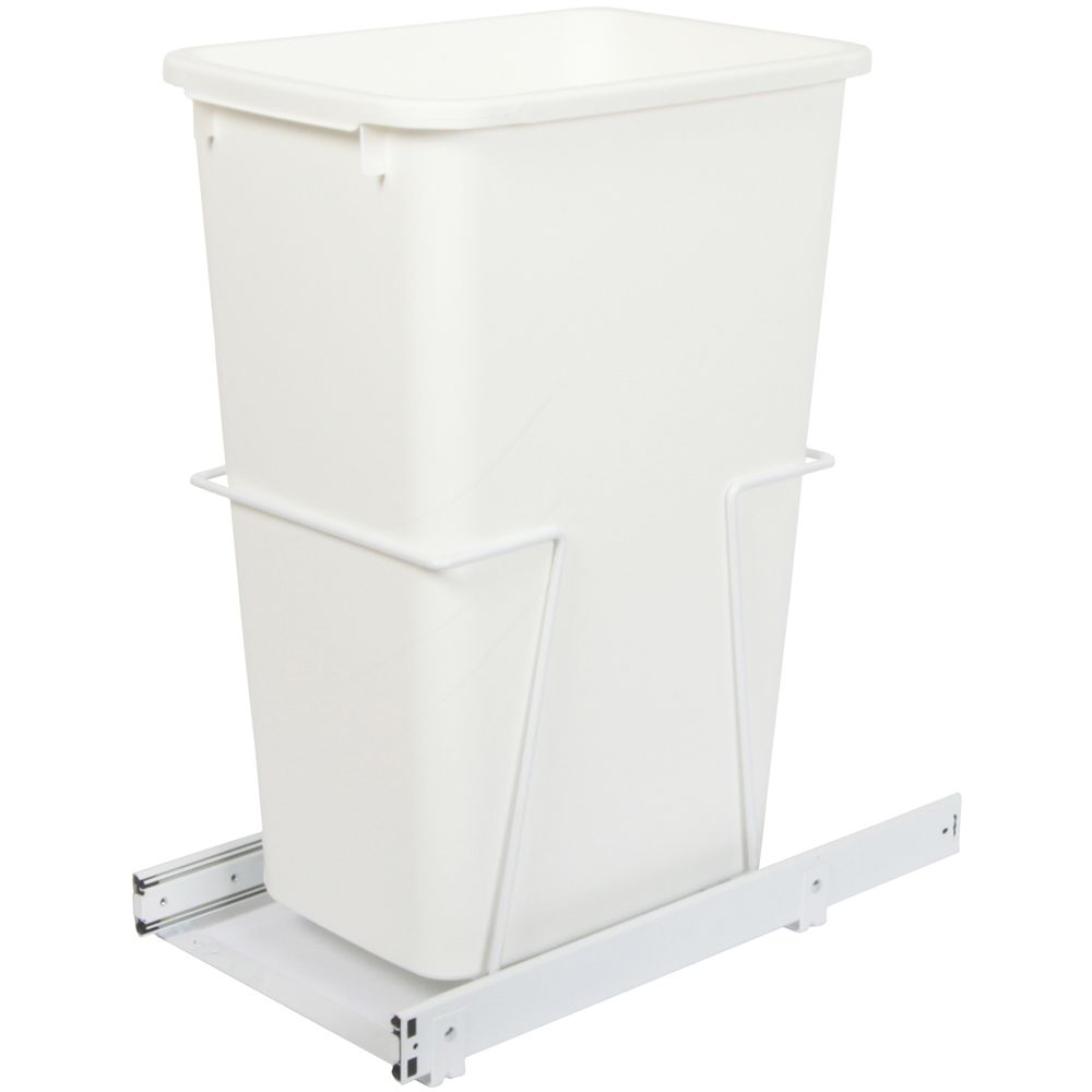 Single 50 Quart Bin Waste and Recycling Unit - Lid is not Included