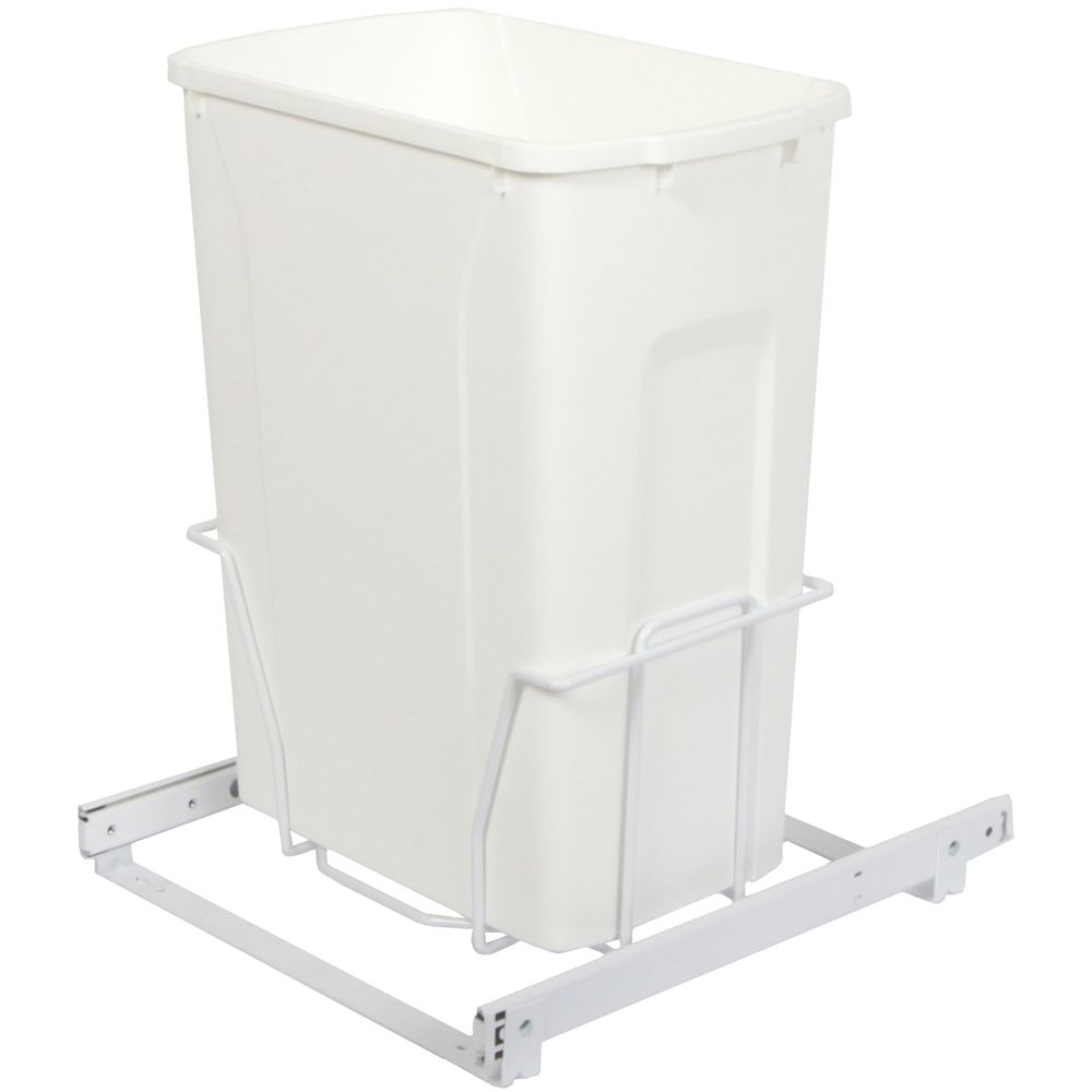 Single 35 Quart Bin Waste and Recycling Unit - Lid is not Included