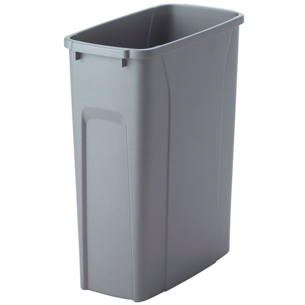 knape vogt 20 quart platinum waste and recycle bin the home depot canada. Black Bedroom Furniture Sets. Home Design Ideas