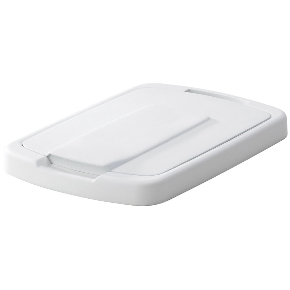 Lid For 35 Quart White Waste and Recycle Bin