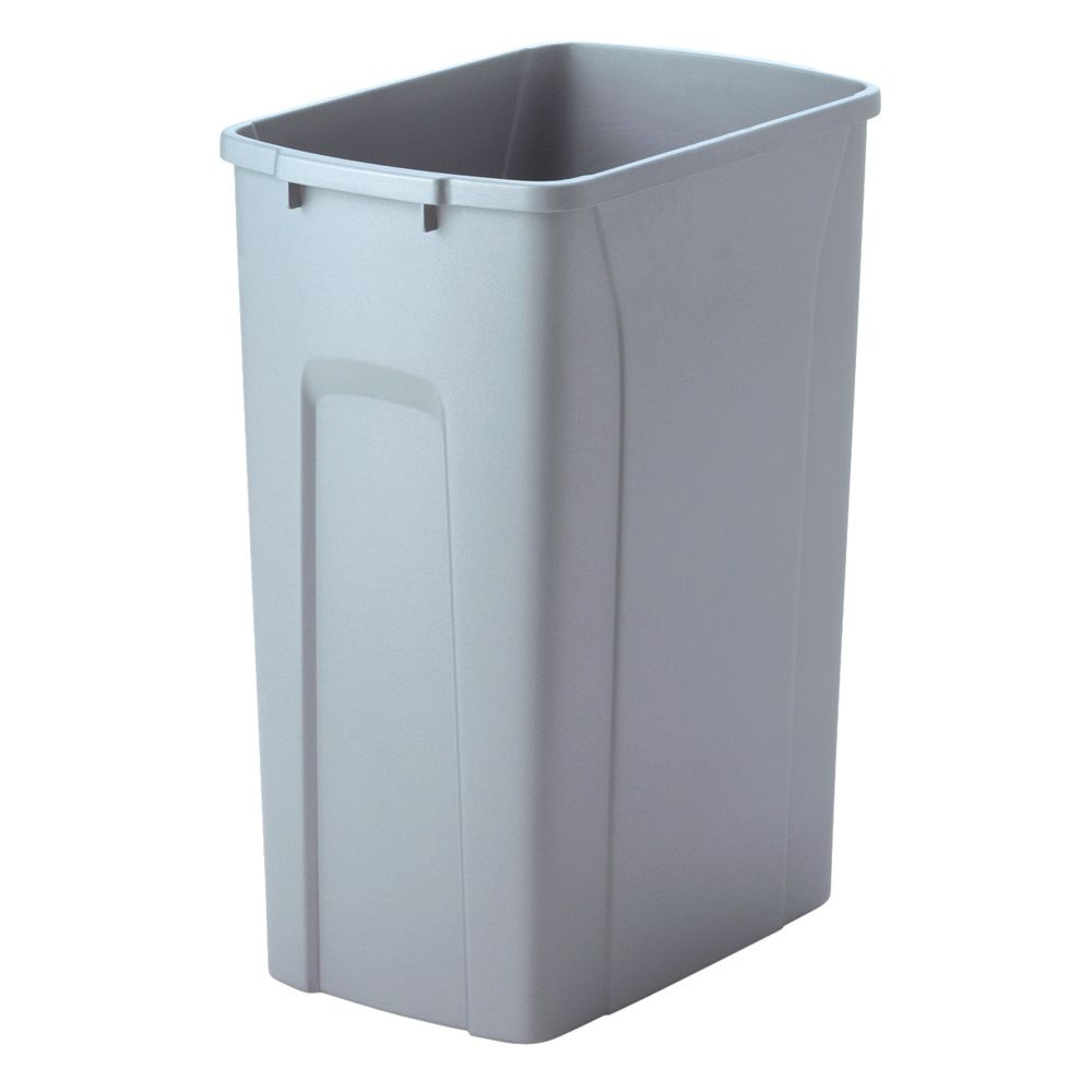 35 Quart Platinum Waste and Recycle Bin
