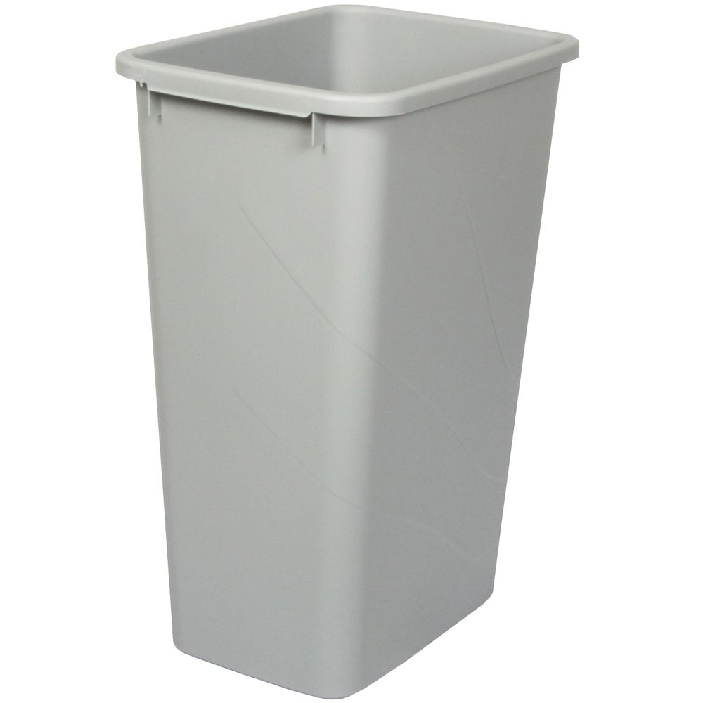 50 Quart Platinum Waste and Recycle Bin