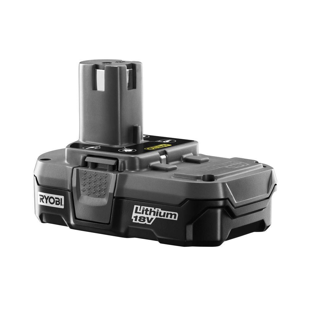 ryobi 18v one lithium compact battery the home depot canada. Black Bedroom Furniture Sets. Home Design Ideas