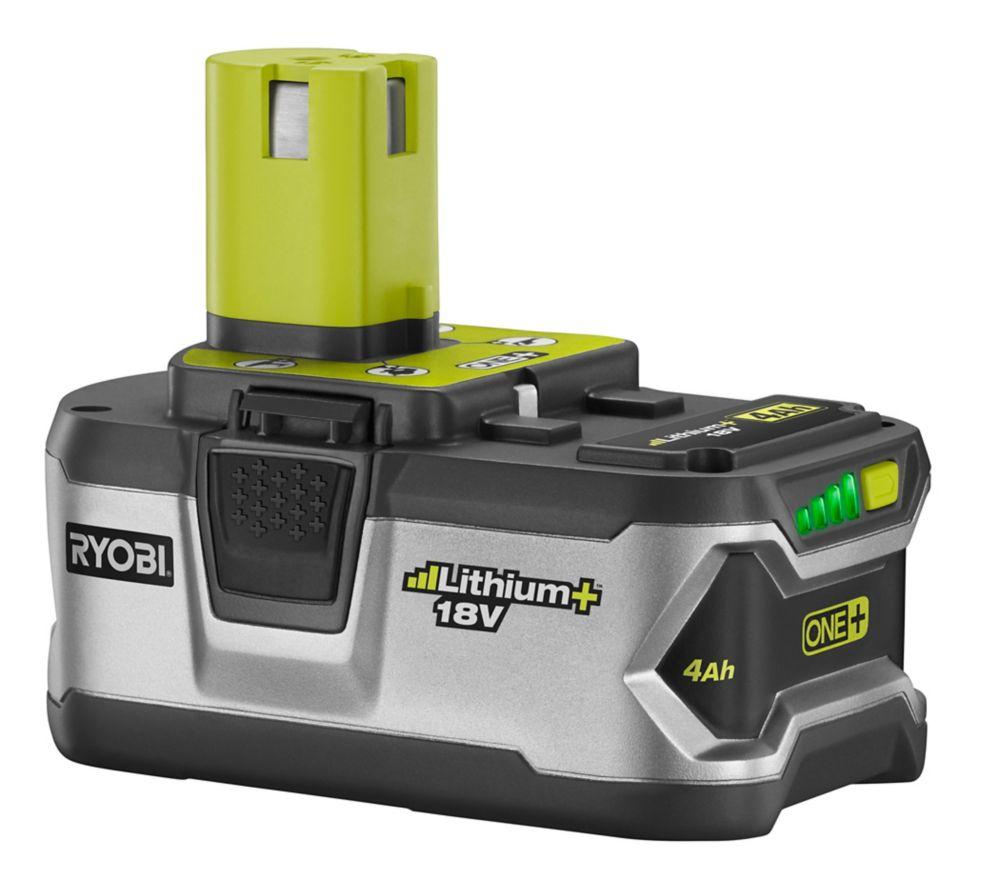 ryobi one 18 volt high capacity lithium battery the. Black Bedroom Furniture Sets. Home Design Ideas