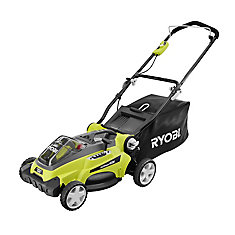 16-inch 40V Lithium-Ion Battery Powered Lawn Mower