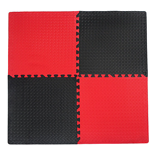 Utility  Black and Red - 24-inches x 24-inches (4-Pack)