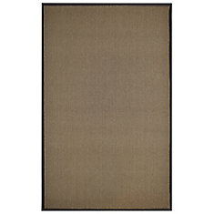 Chocolate Sisal Mat 29 Inches X 44 Inches