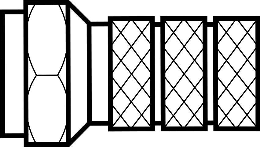 Connecteur F pour Càble Coaxial qte 10