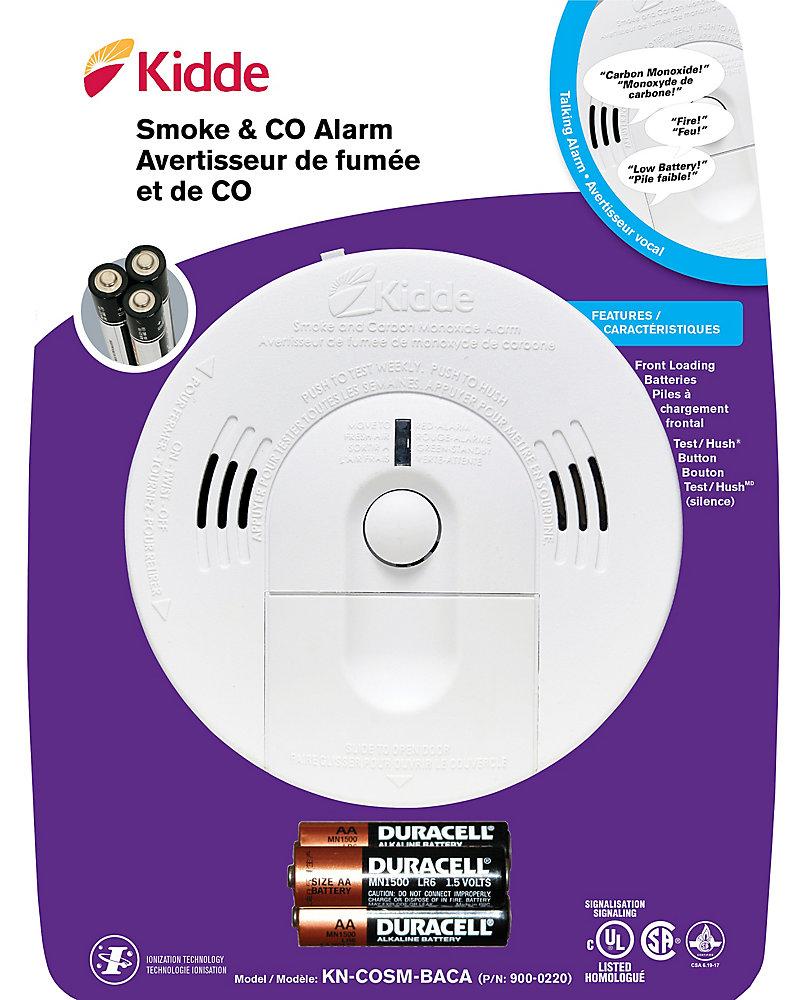 Détecteur de fumée et de monoxyde de carbone perfectionné