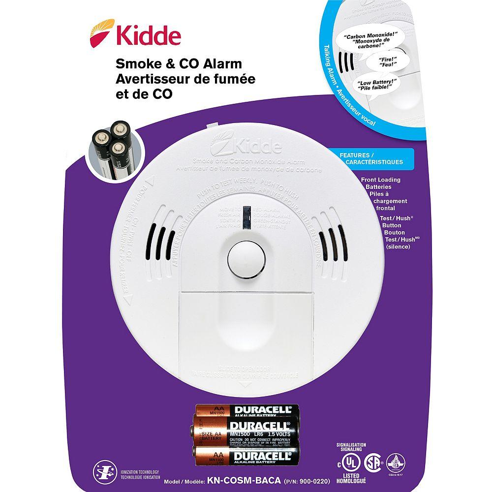 Kidde Talking Intelligent Smoke & Carbon Monoxide Alarm 900-0220