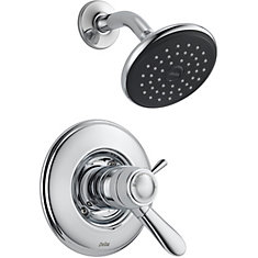 Lahara 1-Spray Shower Faucet in Chrome