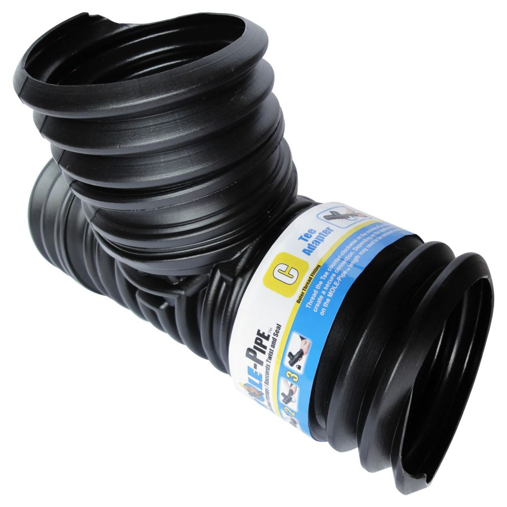 MOLE-Pipe Twist And Seal Tee