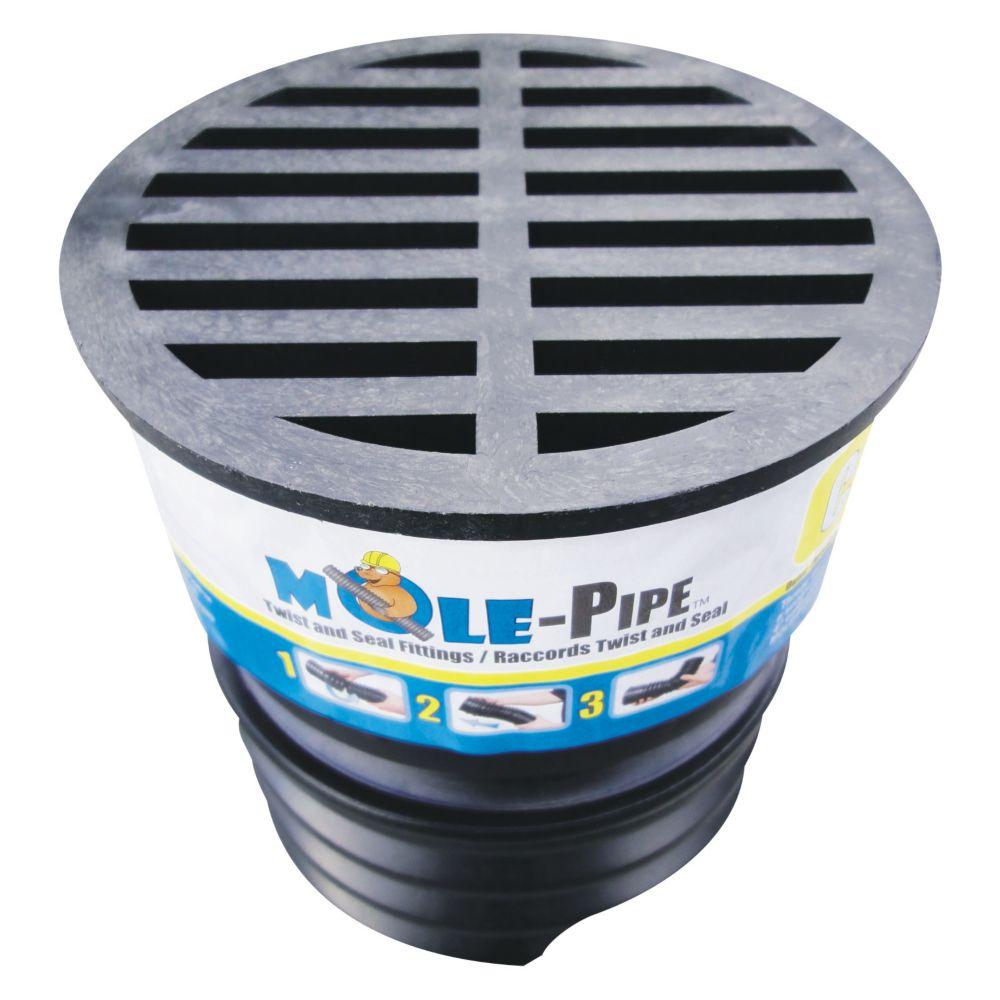 MOLE-Pipe Twist And Seal Drain Cap