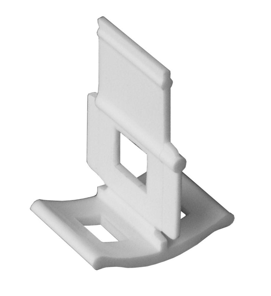 Clips LASH pour Niveler, Aligner et Espacer, Paquet Pro contenant 4,800 Pièces