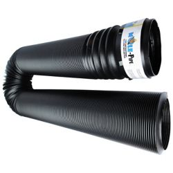 RELN MOLE-Pipe 4 inch x 12ft. Solid Pipe