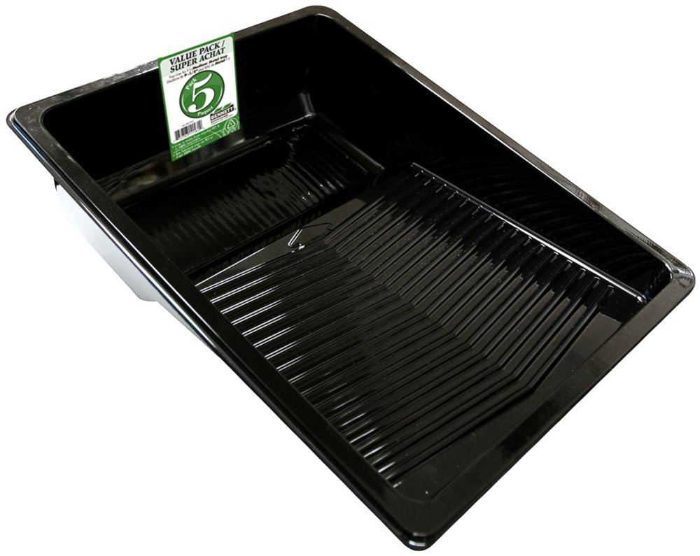 5pk 9-1/2 Inch.  Org Liners For Xl Trays