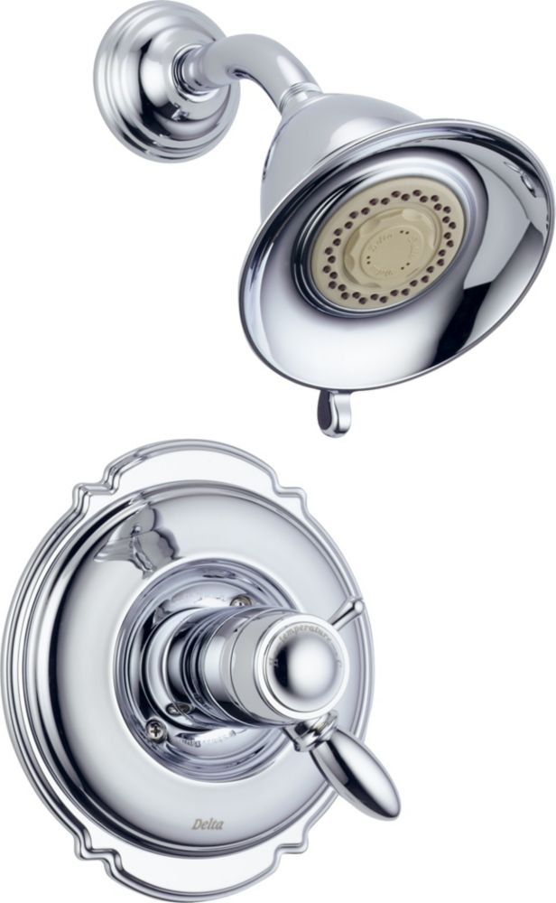 Victorian - Garniture seulement, mitigeur thermostatique de douche, Chrome