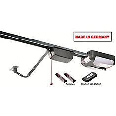 550 3/4 HP Garage Door Opener with Rails