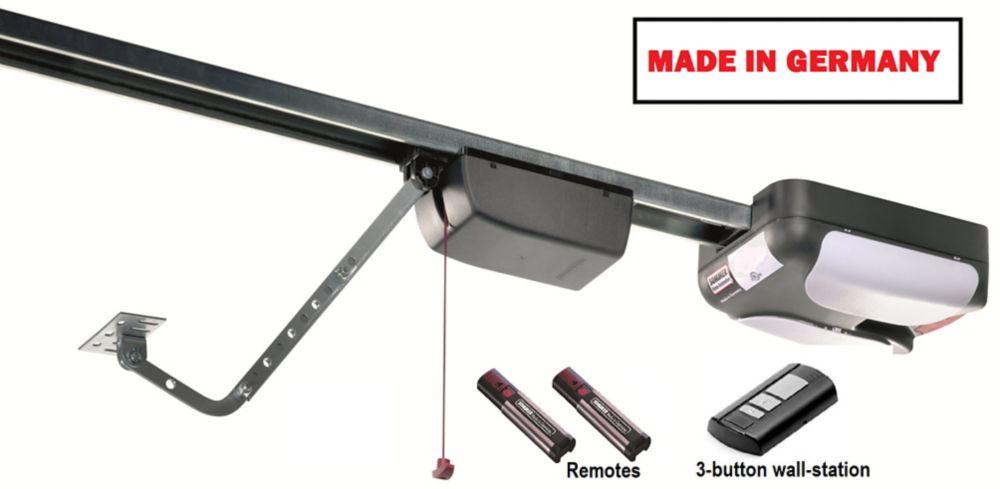 550 3/4 HP Garage Door Opener with Rails