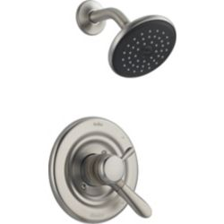 Delta Lahara 1-Spray Shower Faucet in Stainless Steel