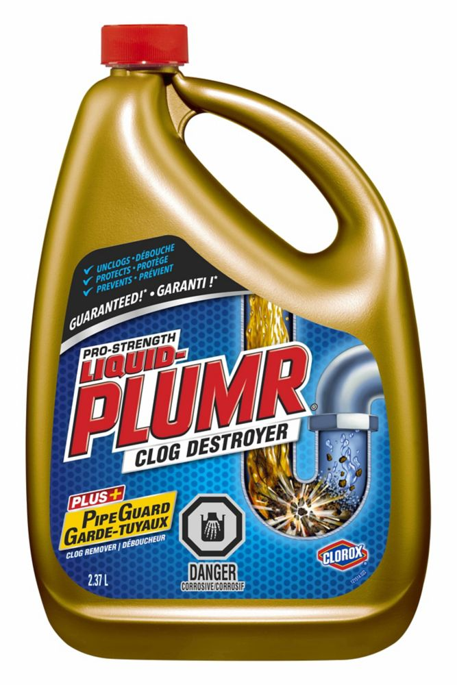 Liquid-Plumr<sup>®</sup> Pro-Strength Full Clog Destroyer<sup>®</sup>