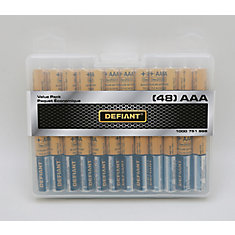 Alkaline AAA Battery (48-pack)