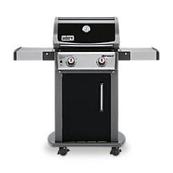 Weber Spirit E-210 2-Burner Propane Gas BBQ in Black with Built-In Thermometer