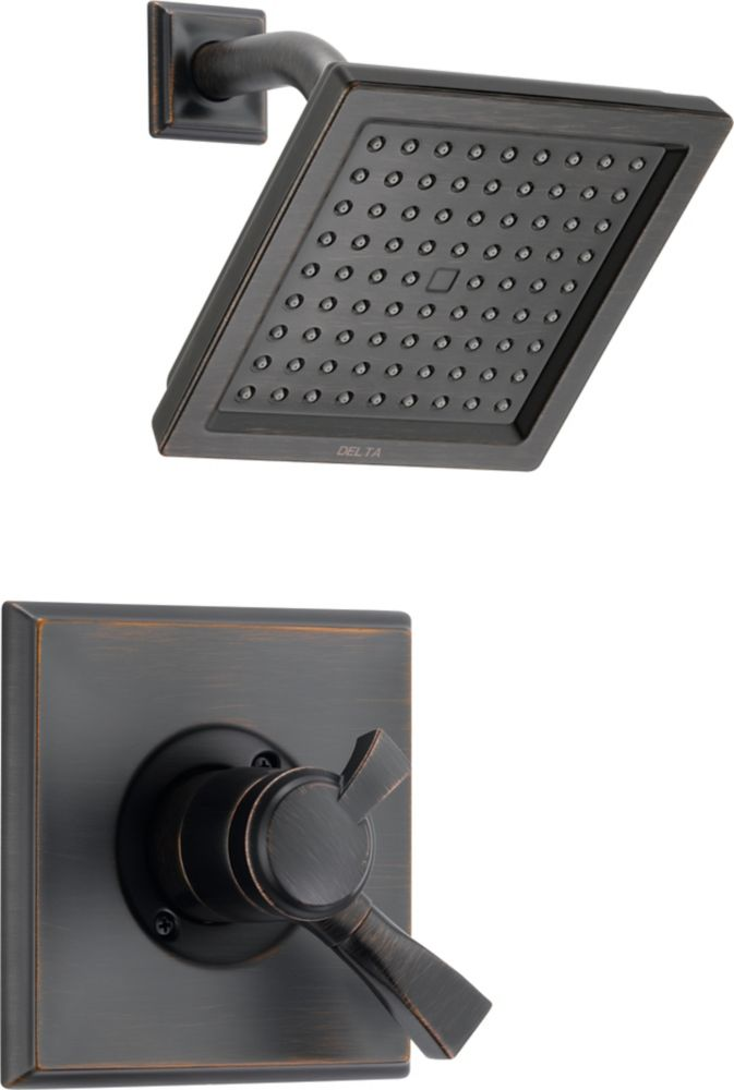 Dryden Single-Handle Single-Function Shower Faucet with Showerhead in Venetian Bronze