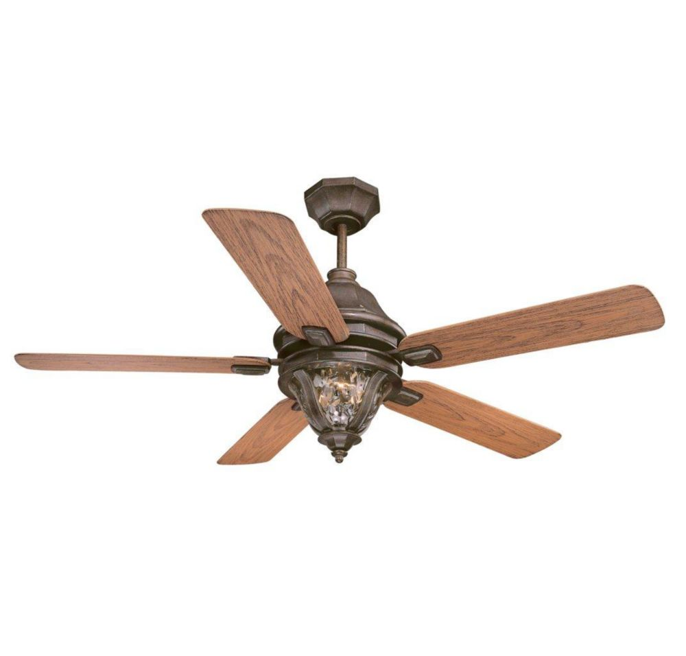 """Satin Collection 52"""" Outdoor Ceiling Fan"""