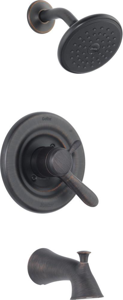 Lahara Single-Handle Single-Function Bath/Shower Faucet in Venetian Bronze