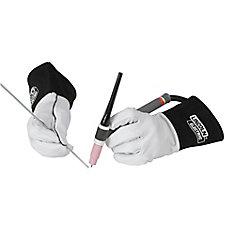 Leather Tig Welding Gloves - Medium