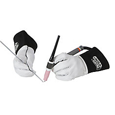 Leather Tig Welding Gloves - Extra Large