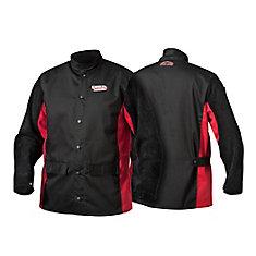 Cuir fendu shadow - veste à manches - XL
