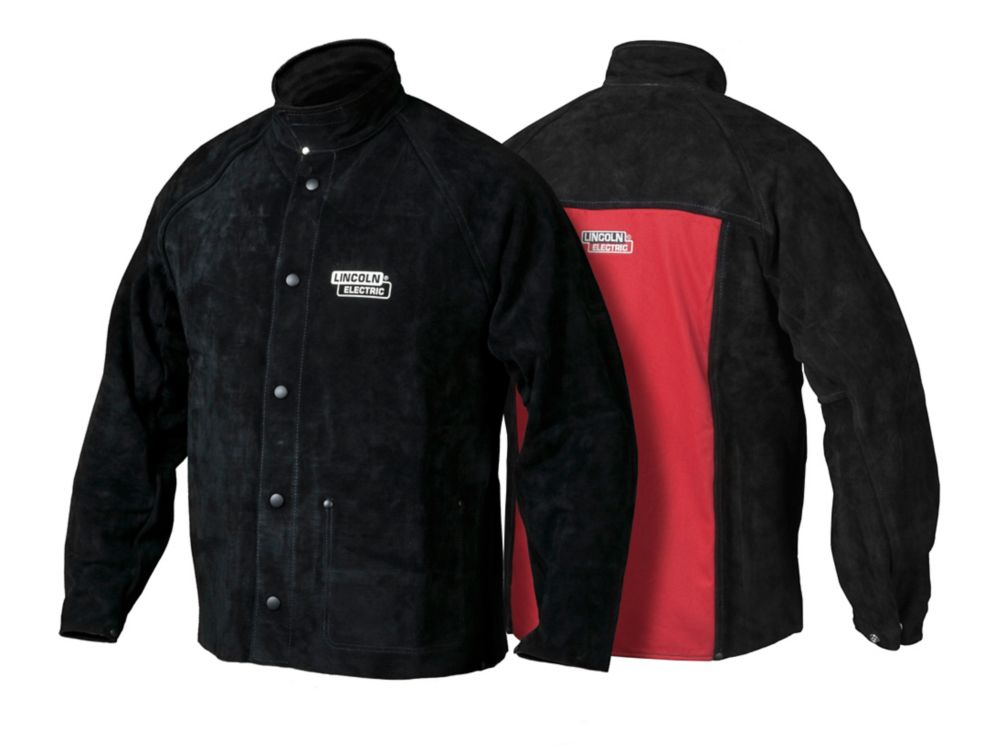 Heavy Duty Leather Welding Jacket - Medium