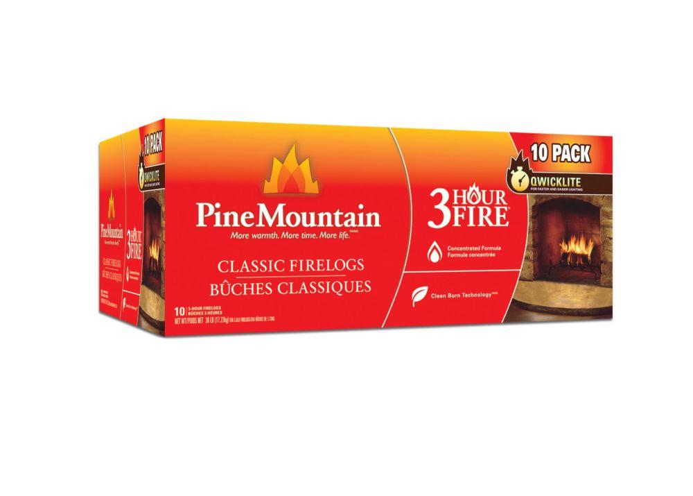 Pine Mountain 10 x 3hr Firelogs