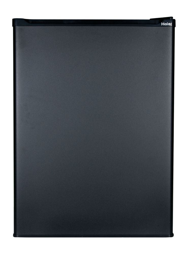 Haier 2.7 cu. ft. Refrigerator with Freezer in Black