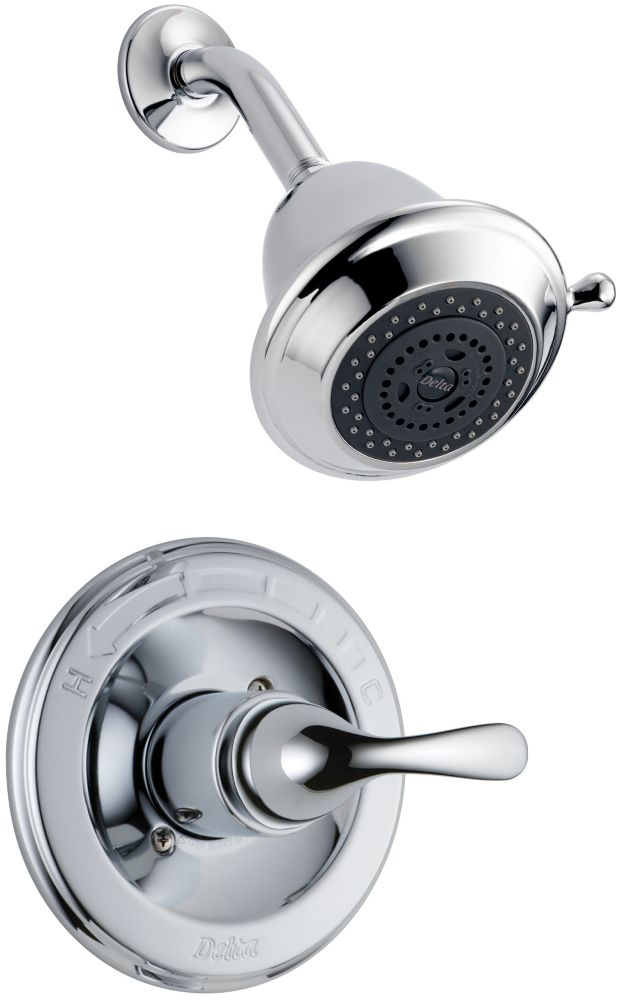 Classic Single-Handle Shower Faucet in Chrome