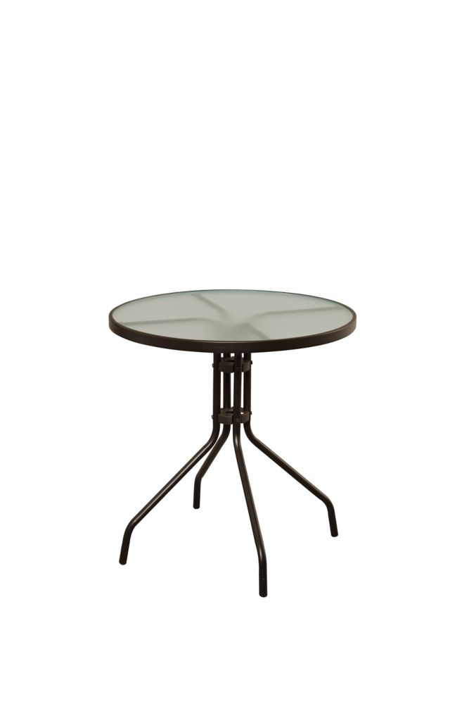 Maple Valley 27 Inch Steel Round Table FTS00027J Canada Discount