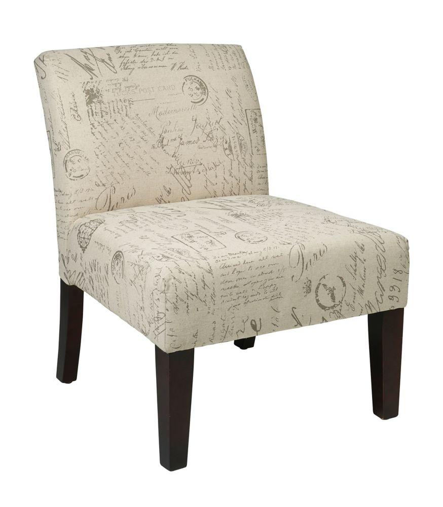 Avenue Six Laguna Chair - Script
