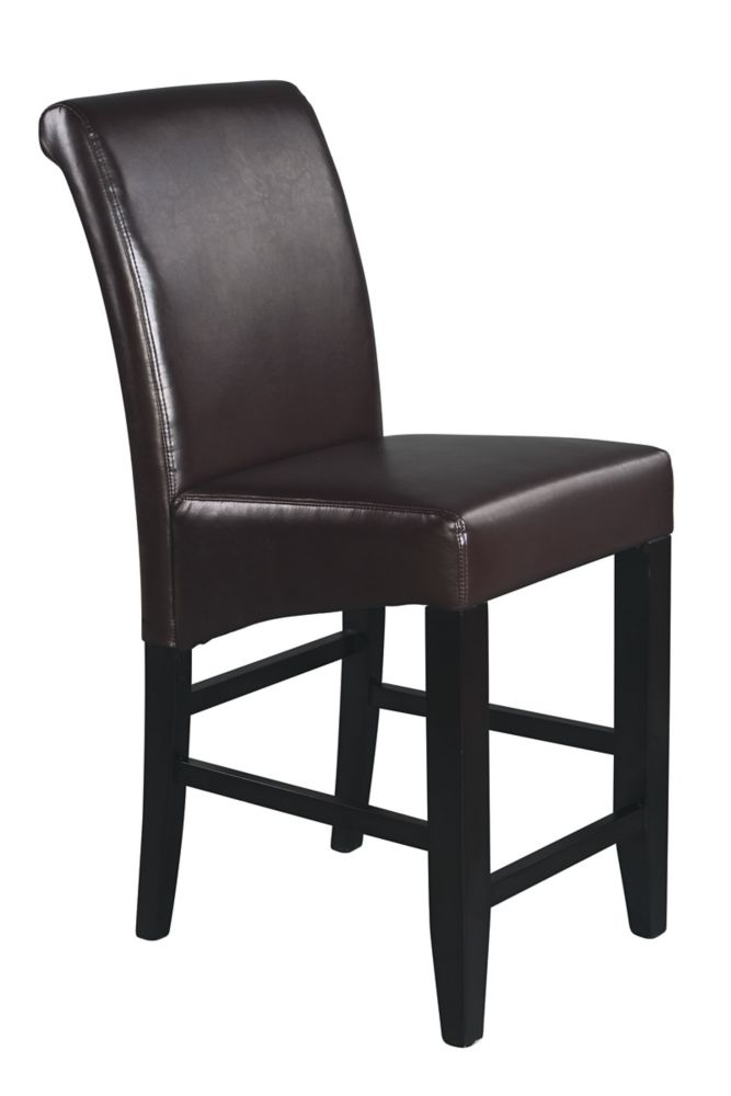 Espresso Finish 24 inches Parsons Barstool