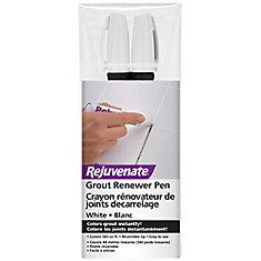 White Grout Restorer Marker Pens