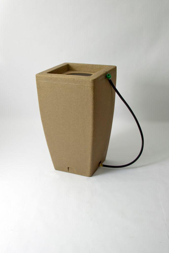 Algreen Products Madison 49 Gal. Decorative Rain Barrel in Sandstone