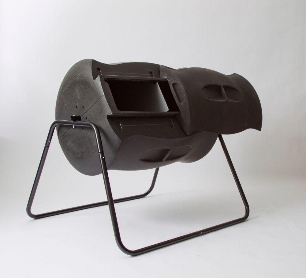 Terra Tumbling Composter  7.4ft3/55Gal - Black