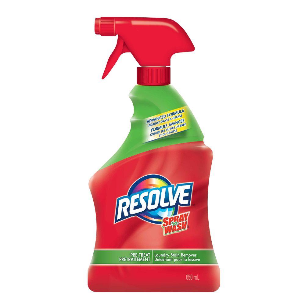 Resolve Spray & Wash