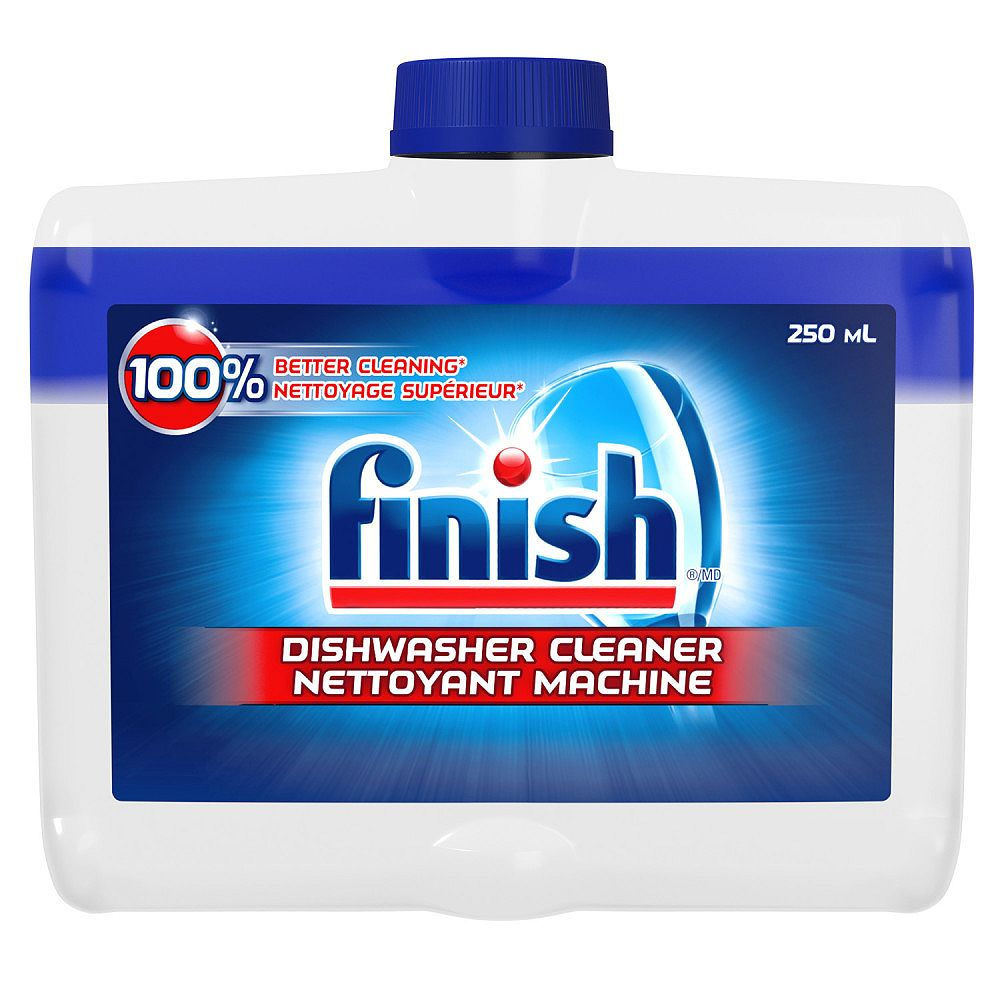 Finish 250 mL Original Dual Action Dishwasher Cleaner (Fights grease & limescale)