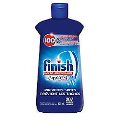 Finish Jet-Dry, Dishwasher Rinse Aid, Original, 621ml, Dishwasher Rinse Agent & Drying Agent
