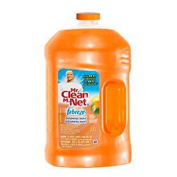 Mr. Clean Liquid With Febreze Citrus
