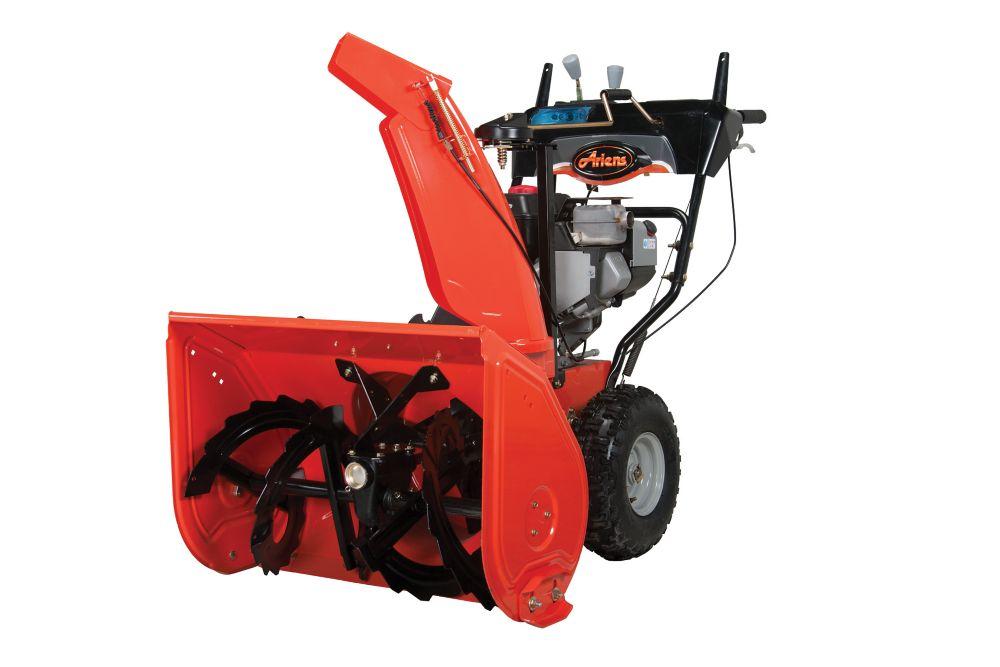 Ariens ST24LE Deluxe 24, démarreur électrique 120 volts, largeur de déblaiement de 61 cm - Remis ...