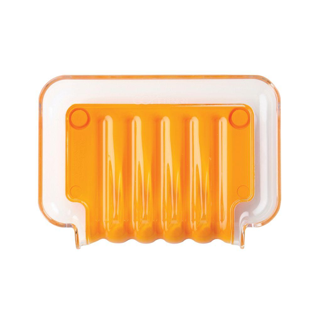 Porte-savon orange Trickle Tray